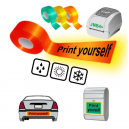 Tulosta itsesi käyttämällä JMB4+-lämpöpaininta heijastaviin nauhoihin