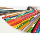 Valikoituja PVC-kortteja väritulostuksella