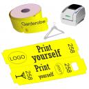 JMB4-tulostimelle on suora lämpövahtimen lipputela