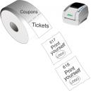 Tulosta itsellesi lippuja ja kuponkeja JMB4-lämpö-suoralla tulostimella