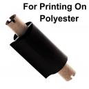 Kalvot painattamalla lämpösiirtopainosta polyesteriin